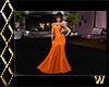 Elegant Halloween Orange