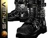 ~V~Chained Boots -Spider