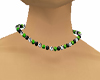 Purple and Green Necklac