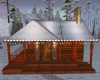 Snowy Cozy Cabin
