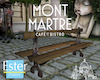 MONTMARTRE FRENCH BENCH