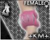 +KM+ Ring Cuff Pink F-L
