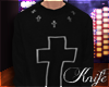♆ Cross Sweater 'M