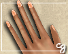 cg. Peach Nails