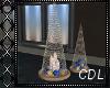 !C* B Christmas Candles