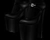 B! Black Femboy Heels