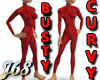 J68 Busty Curvy Bodysuit