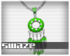 Takeo Lime Necklace