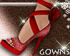 Valentines Red Heels