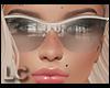 LC White Sun Glasses