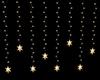 Gold Star Light Garland