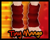 -TM- Red Leg Warmers