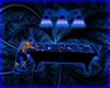 Blue Animated Pool Table