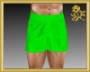 Lime Green Swim Shorts