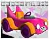 CL PinkFantastic Toy Car
