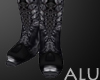[ALU] Combat Boots Black