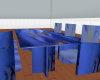 Blue Flower Dining Suite