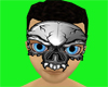 chrome skull mask