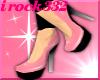 [irk] PVC PNK Plat.heels