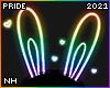 PRIDE Neon Bunny Ears
