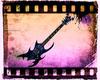 Blue Spots Guitar