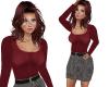 TF* tTop & Tweed Skirt