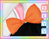 Kids Orange Bow
