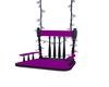purple chair swing