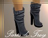 PdT Gray Short Boots F