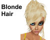 Blonde Hair-Short
