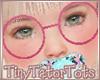 Hot Pink Glasses