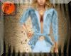 Sky blue brocade suit