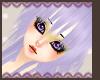 Purple orika hair