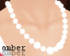 ❥ pearl necklace