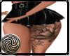 Black Skirt Tattoo flora
