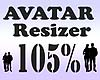 Avatar Resizer 105%