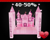 Mm Kids Fantasy Bed Pink