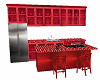 small red kitchen animtd