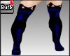 Barb Mistress Boot~blue