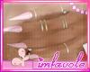 = Pink Nails . Rings