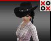 Black Cowgirl Hat