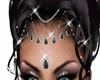 Head Jewel Black Gems