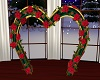 Christmas Wedding Arch