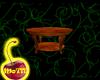 Burl Oak Coffee Table