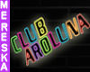 Neon Club Sign