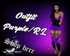 Outfit Purple RL