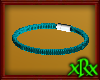 Leather Bracelet Teal