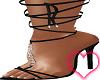 Black Evelynn Heels