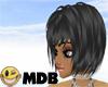 ~MDB~ BLACK ANGIE HAIR