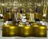 vettes gold serving tabl